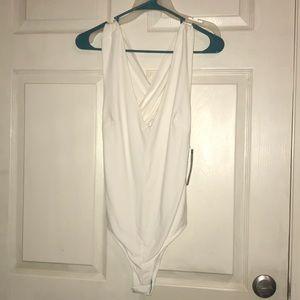 White Bodysuit from Lulu's